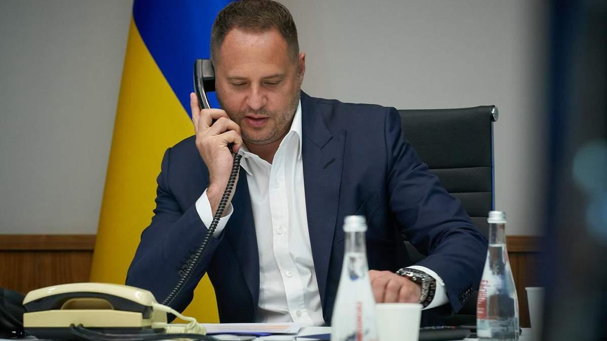 Глава Офісу Президента Андрій Єрмак одужав від COVID-19