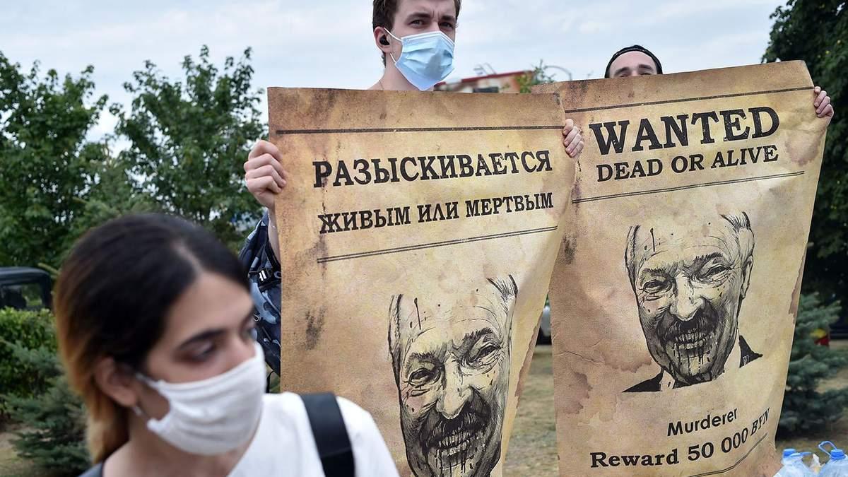Протесты в Беларуси - что общего у Лукашенко и нацистов - Канал 24