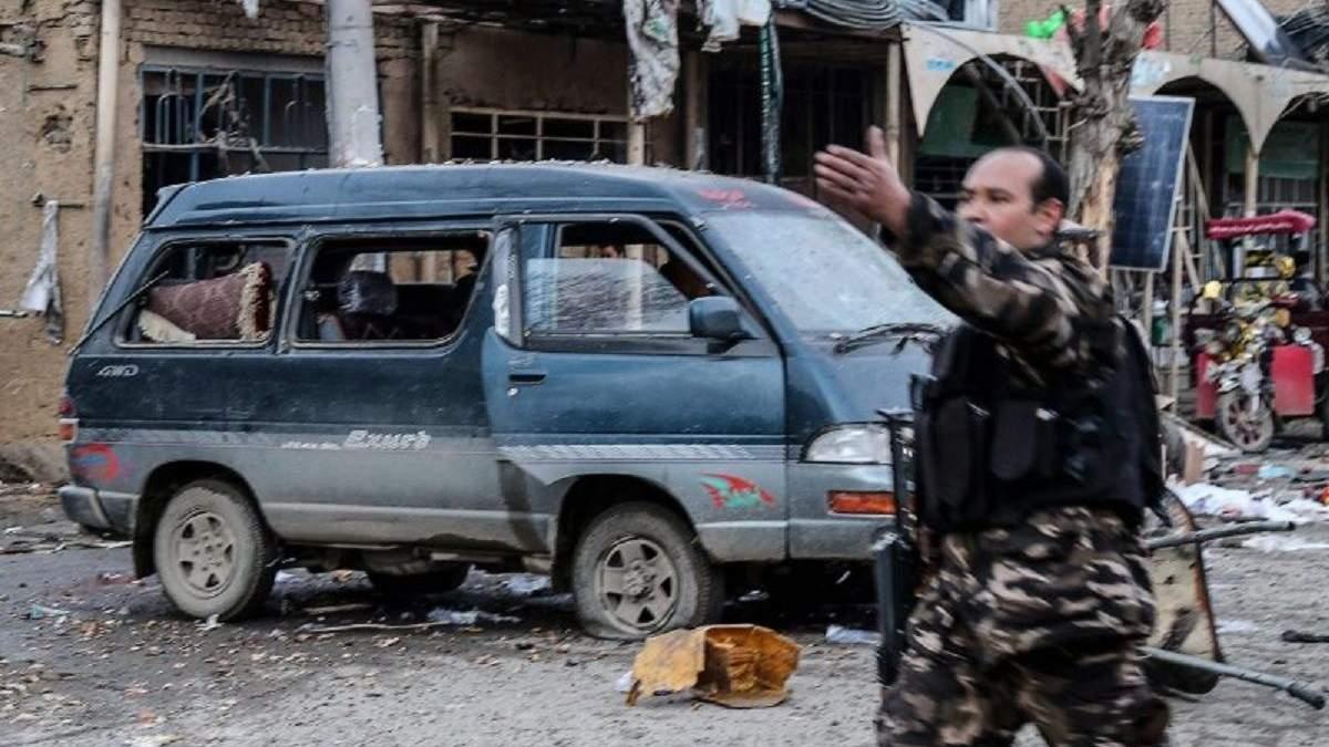 В Афганістані стався подвійний теракт: є жертви, поранені