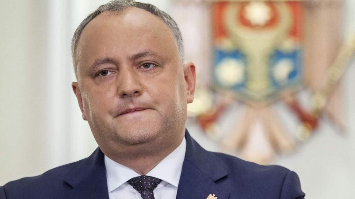 Суд Молдови відхилив скарги Додона про фальсифікації