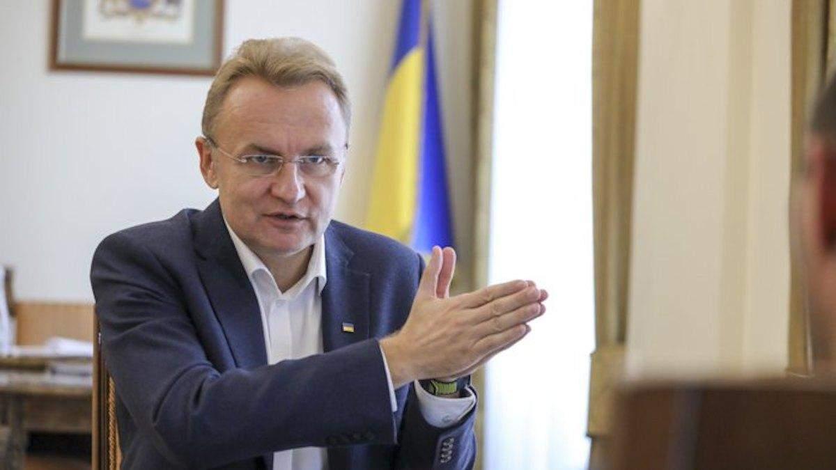 Садовый рассказал о выборах мэра во Львове: Столько грязи я не помню