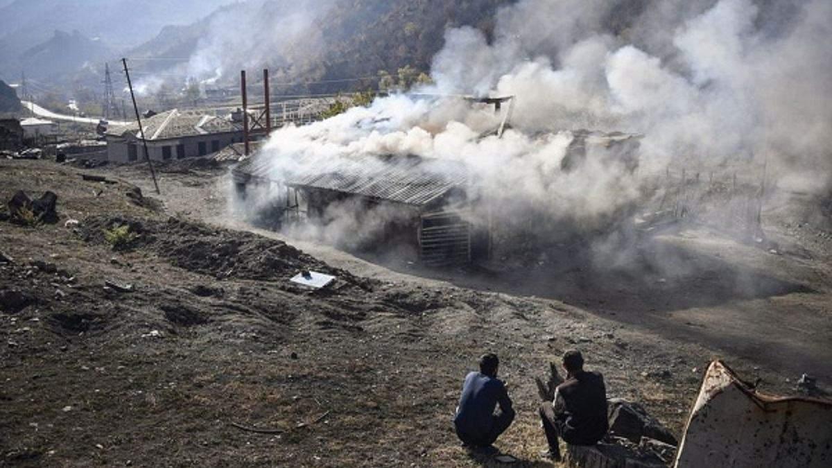 Вірмени помилково спалили село Чарактар, яке не потрібно віддавати