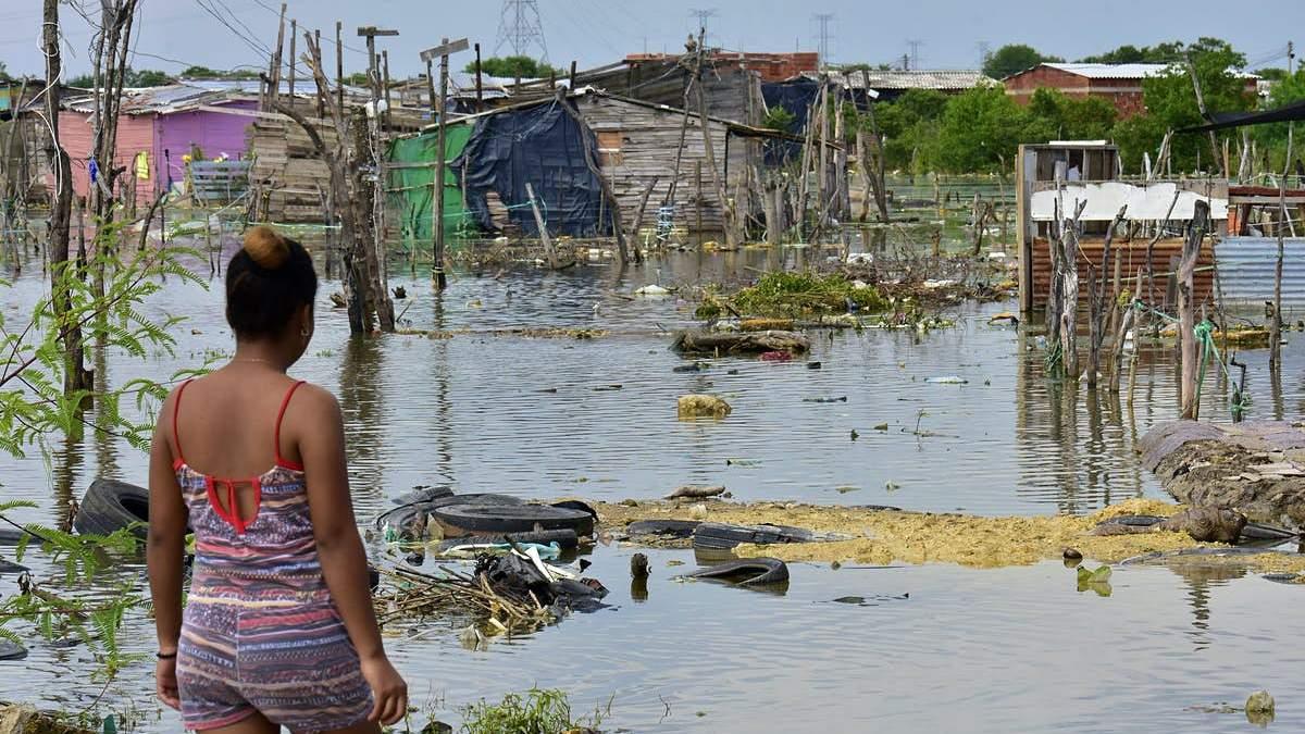 Регион Центральной Америки после урагана
