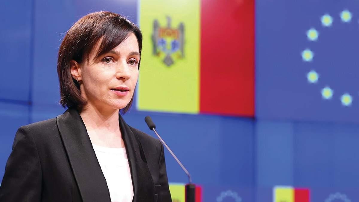 Офіційна позиція: Санду вимагає виведення військ Росії з Придністров'я