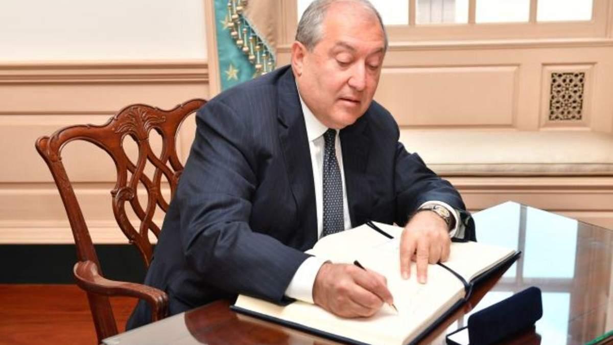 Президент Армении Саркисян уехал в Москву: первые детали