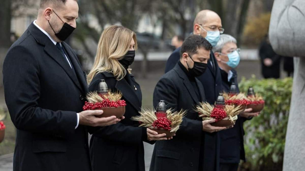 В Украине количество жителей уменьшилось на 10%, - Ермак о Голодоморе