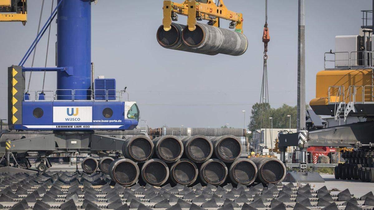 Будівництво Північного потоку-2 відновлять: відома дата