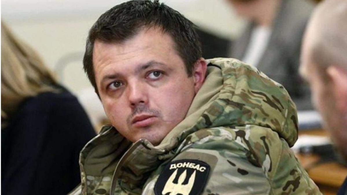 Суд не вернул Семенченко звание офицера - Канал 24