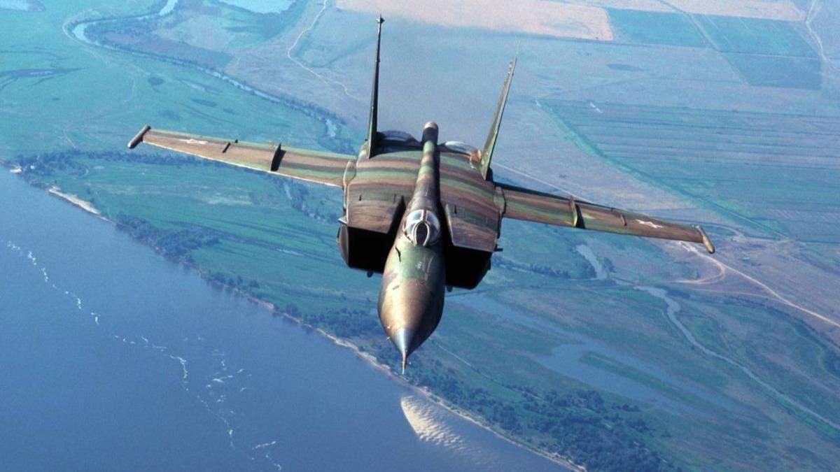 Росія перехопила літак Повітряних сил США над Чорним морем