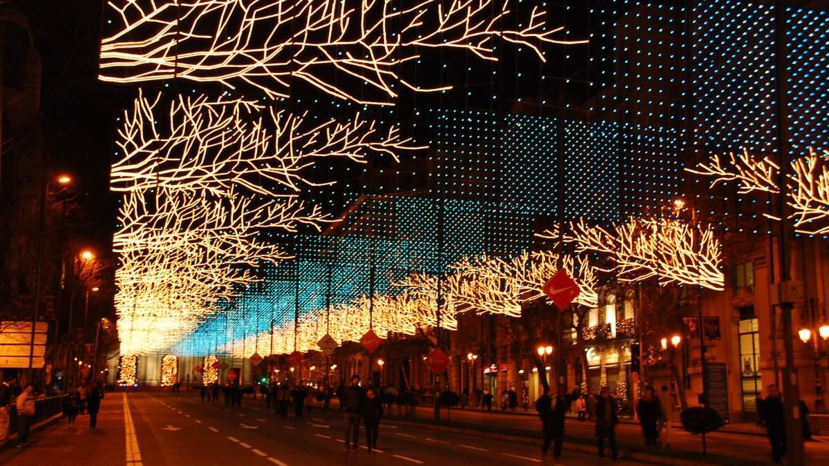 У Мадриді готуються до Різдва