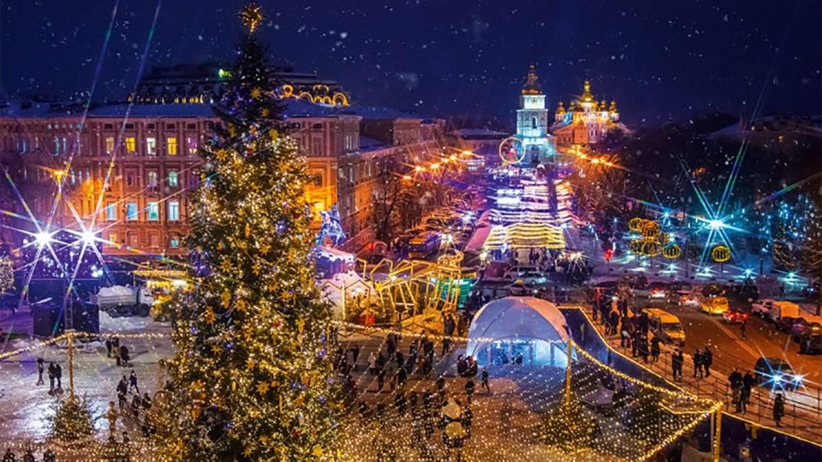 Новогодние елки в городах Украины отменяют: опрос