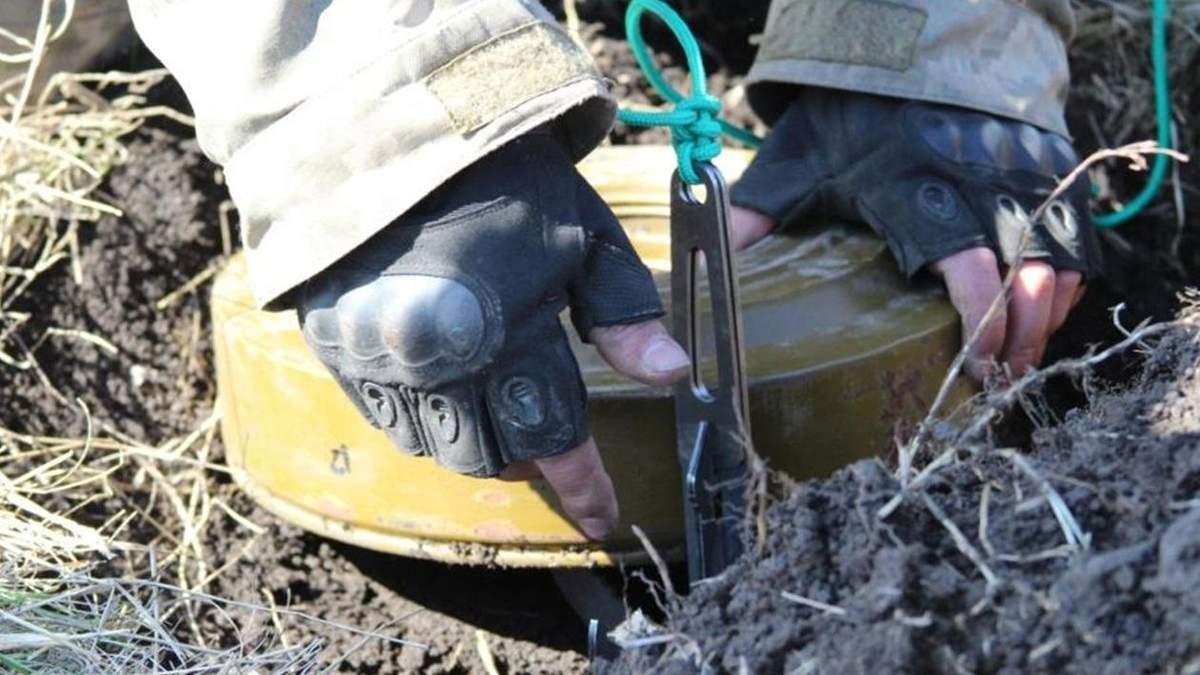 Бойовики хотіли замінувати позиції ООС на Донбасі: деталі