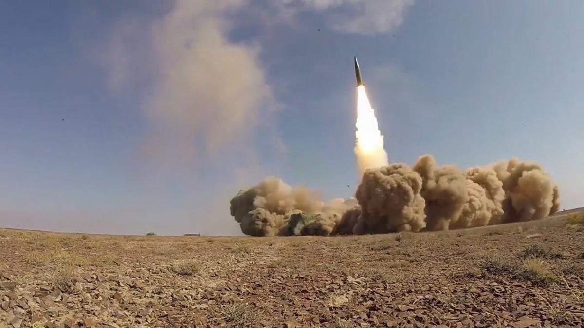 Показали запуск вірменських ракет по Азербайджану під час війни: відео