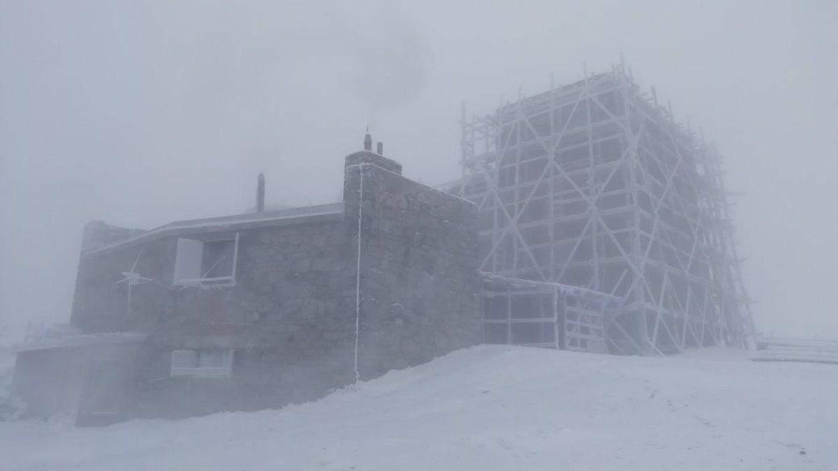 У Карпатах вдарив 10-градусний мороз
