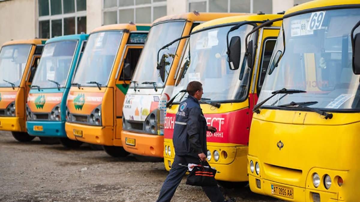Новітні технології в маршрутках під час карантину в Івано-Франківську
