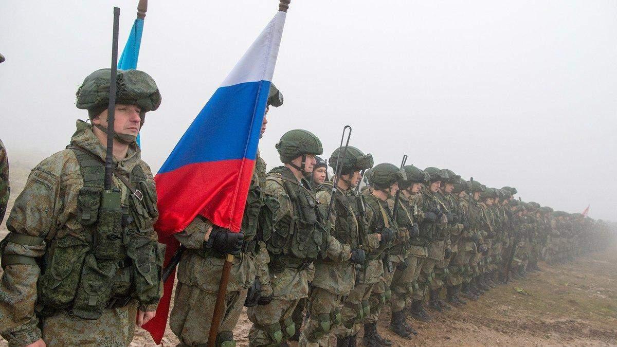 На Донбассе находятся 35,5 тысяч российских военных