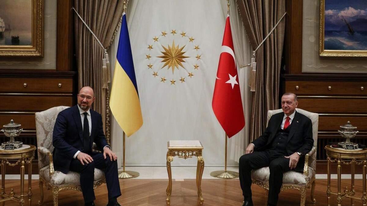 Шмыгаль встретился с Эрдоганом: о чем говорили политики - видео