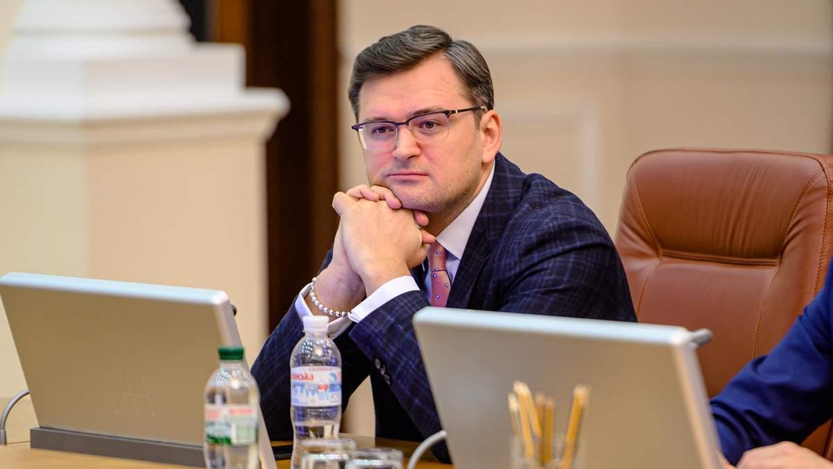 Кулеба викликав угорського посла через скандали щодо Угорщини на Закарпатті