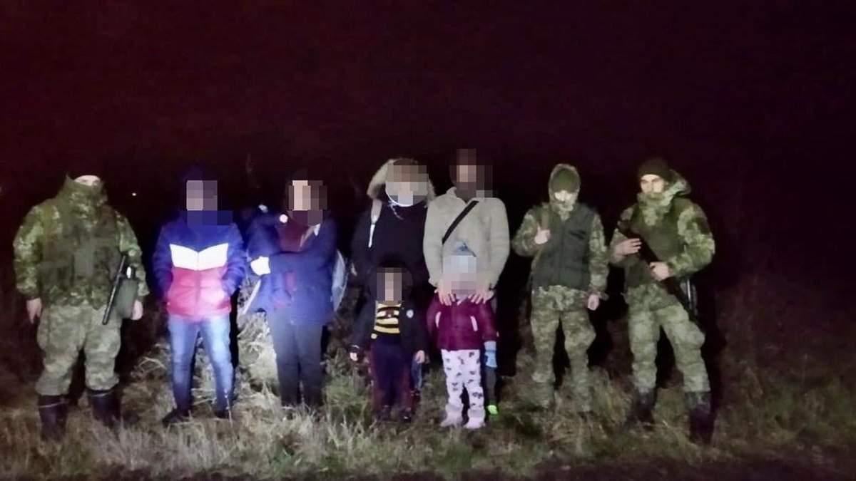 Сім'ю з Іраку хотіла незаконно потрапити до Польщі