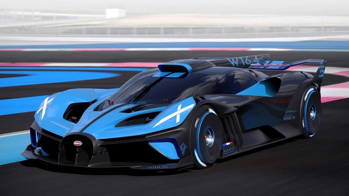 Bugatti презентувала трековий суперкар Bolide: можливості новинки