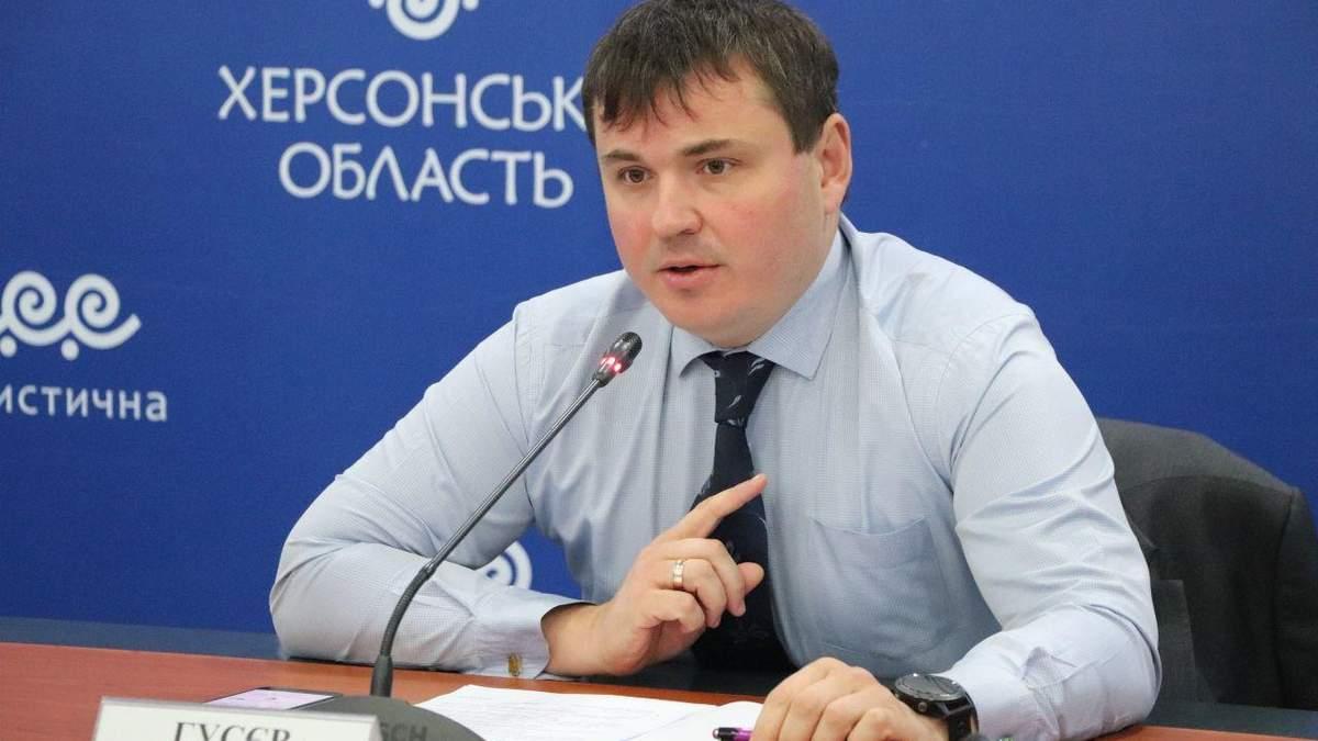 Кабмин согласовал увольнение председателя Херсонской ОГА Гусева