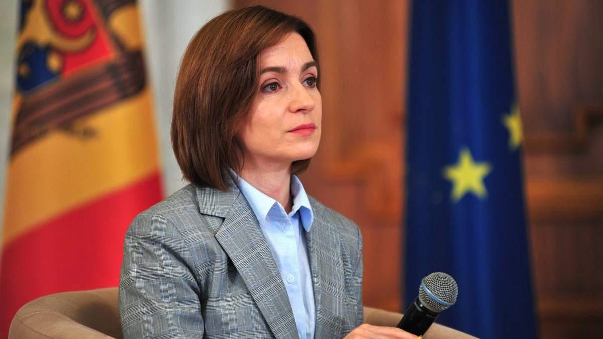 Майя Санду заявила о попытке захвата власти в Молдове