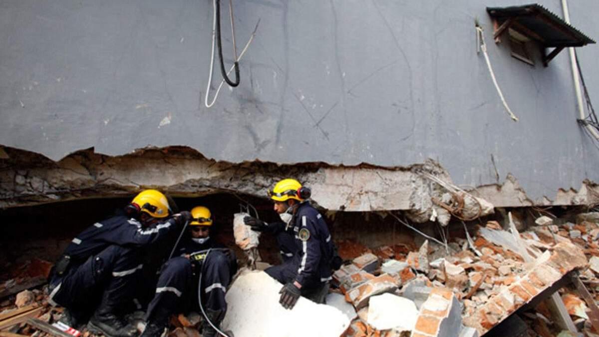 В Египте 6 человек погибли из-за обвала жилого дома