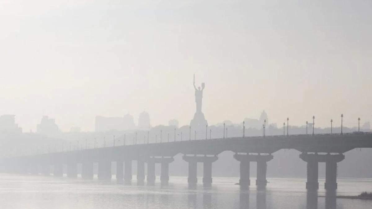 Киев снова попал в рейтинг городов с наиболее грязным воздухом