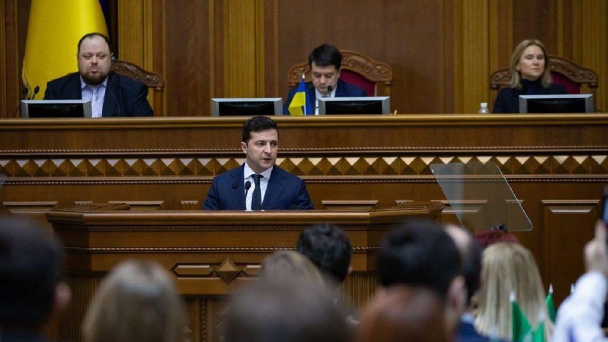Зеленський, Гройсман, Порошенко: рейтинг довіри у листопаді - Канал 24