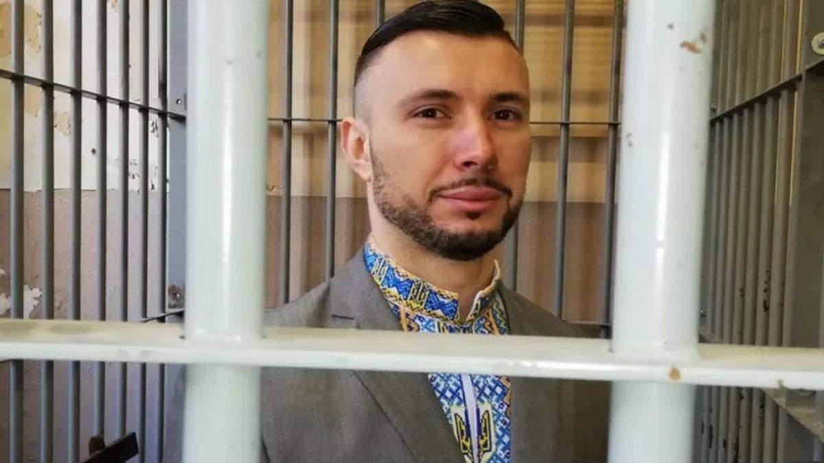Маркив передал в музей вышиванку с заседания суда в Италии: фото