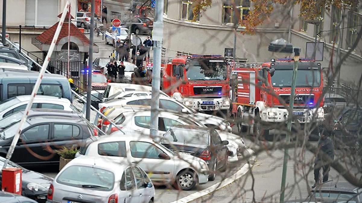 Взрыв прогремел у телецентра в Сербии: есть жертвы, видео