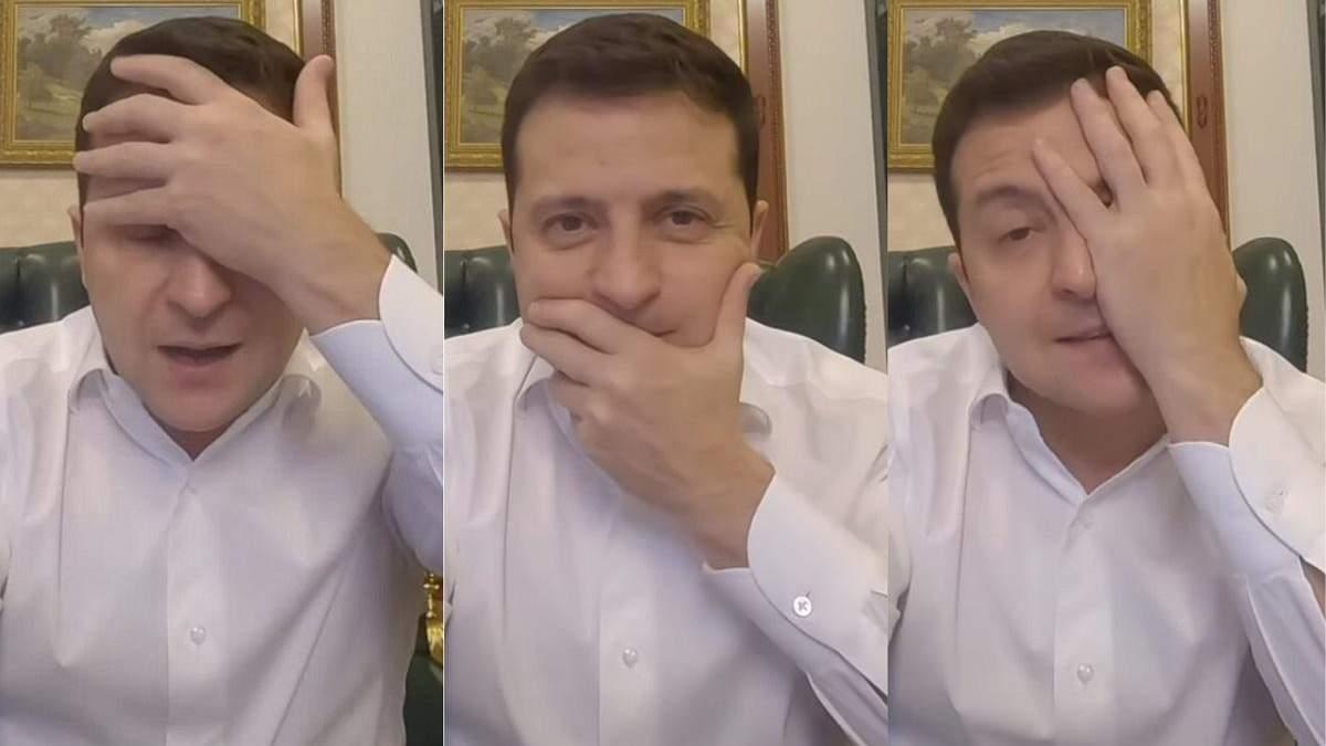 Зеленский показал, как правильно носить защитные маски: фото, видео