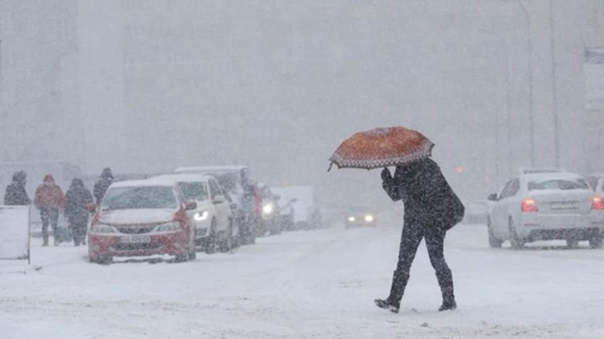 Україну замете снігом: синоптики назвали ймовірну дату