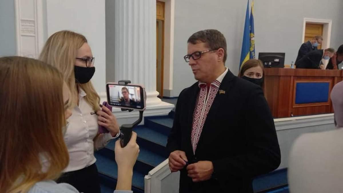 Роман Сущенко - первый заместитель председателя Черкасского облсовета