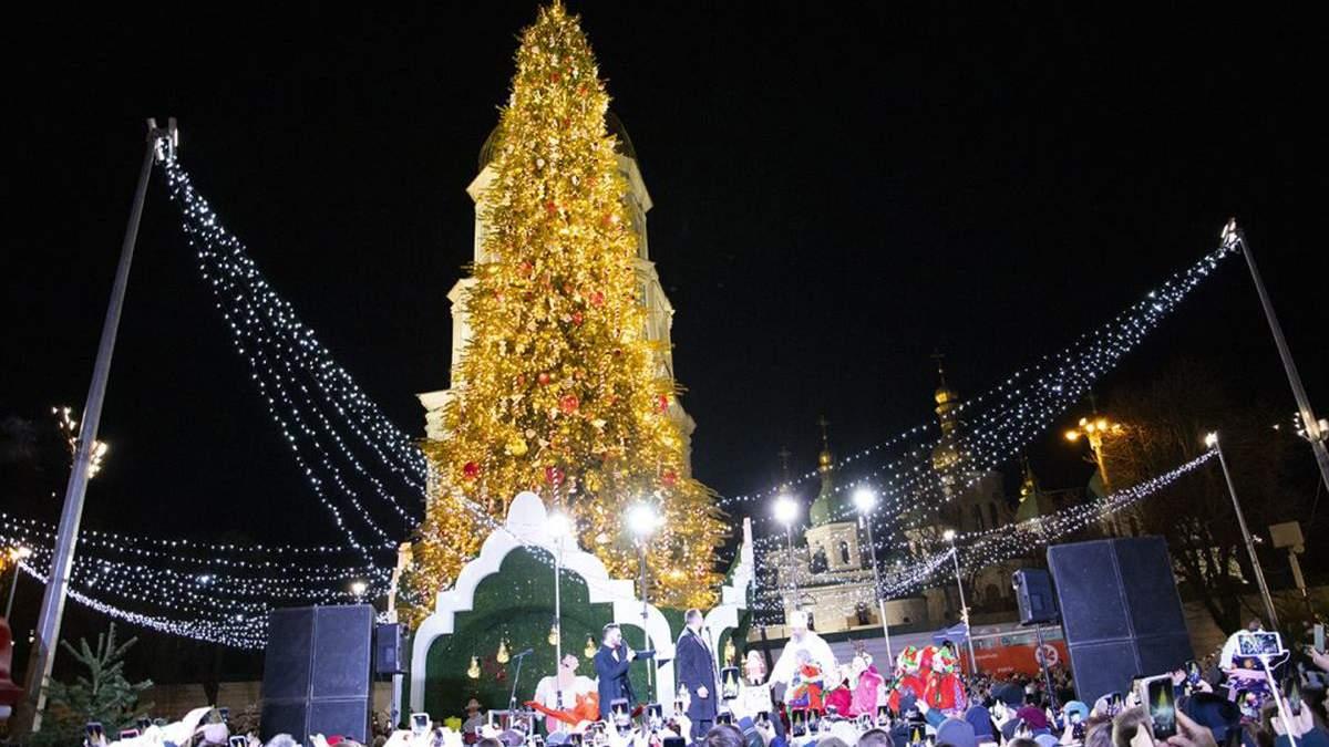Главную елку страны засветит голограмма Святого Николая