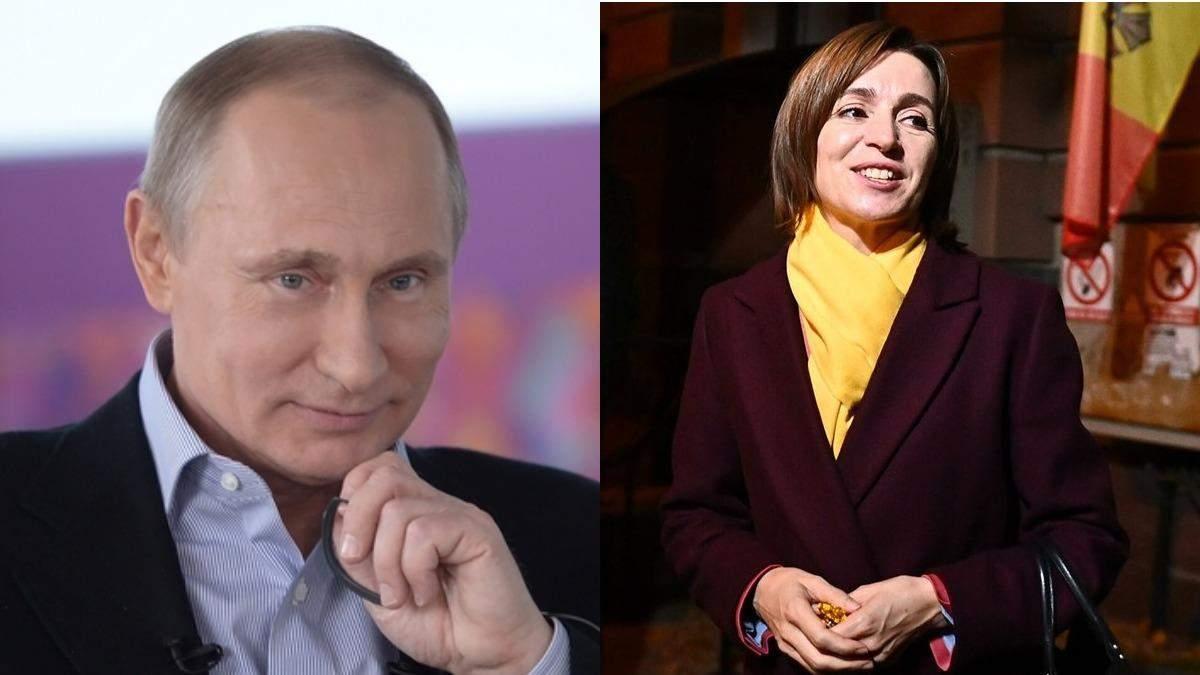 Росія може тиснути на Санду через газовий борг