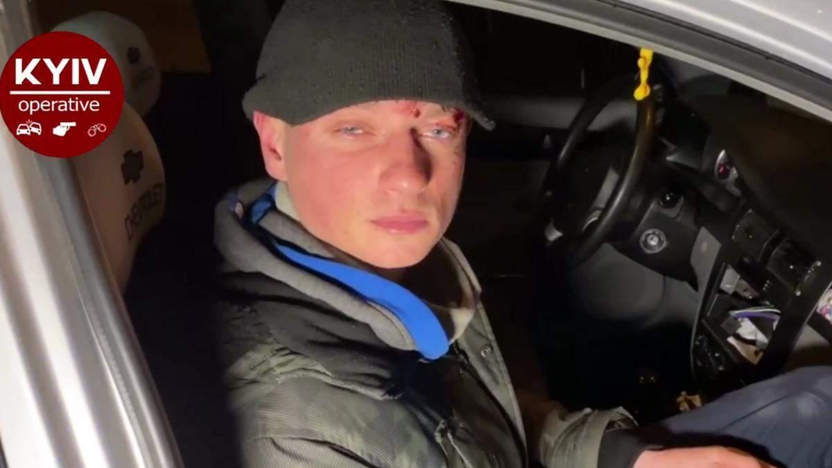 В Киеве в ДТП попал нетрезвый работник СМИ