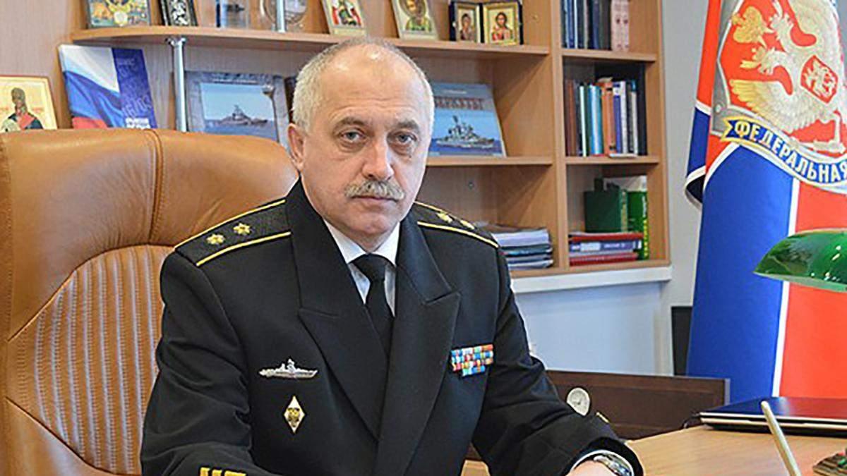 Суд дозволив затримати віцеадмірала Росії за Керчинський інцидент