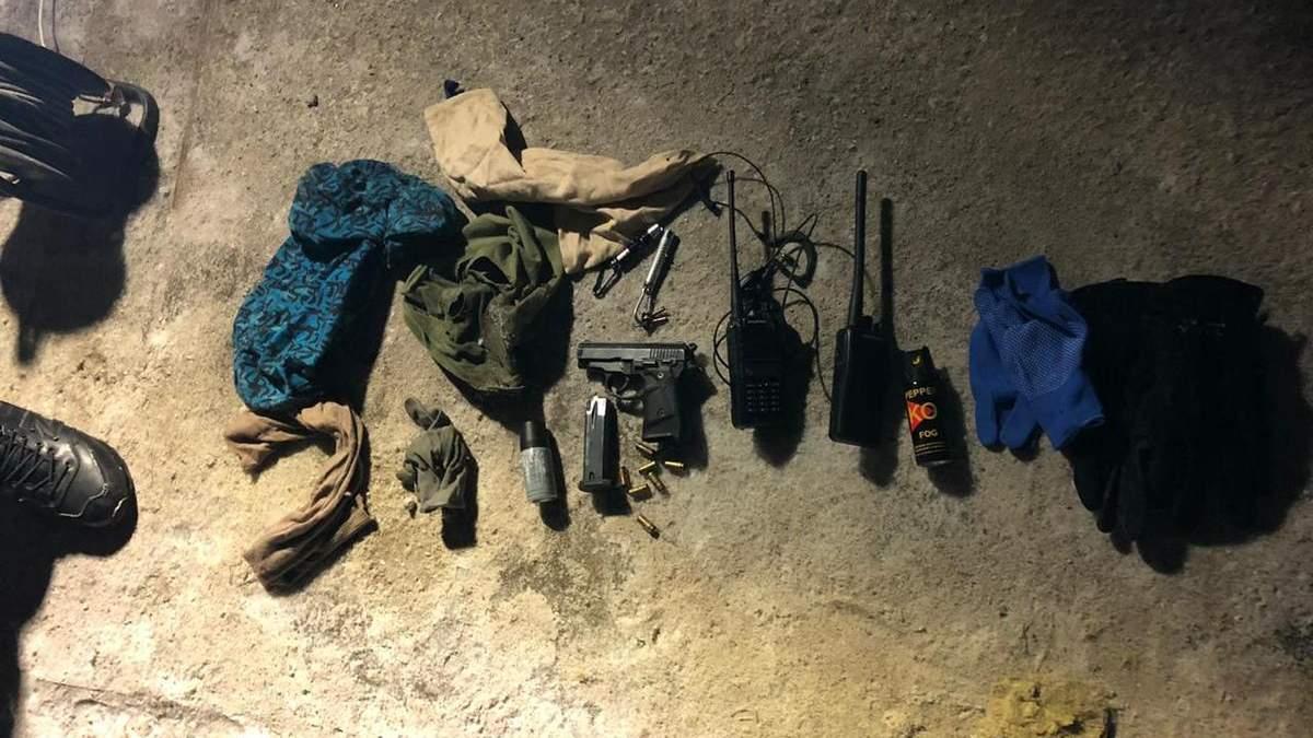 На Київщині КОРД зі стріляниною та вибухом знешкодив групу бандитів