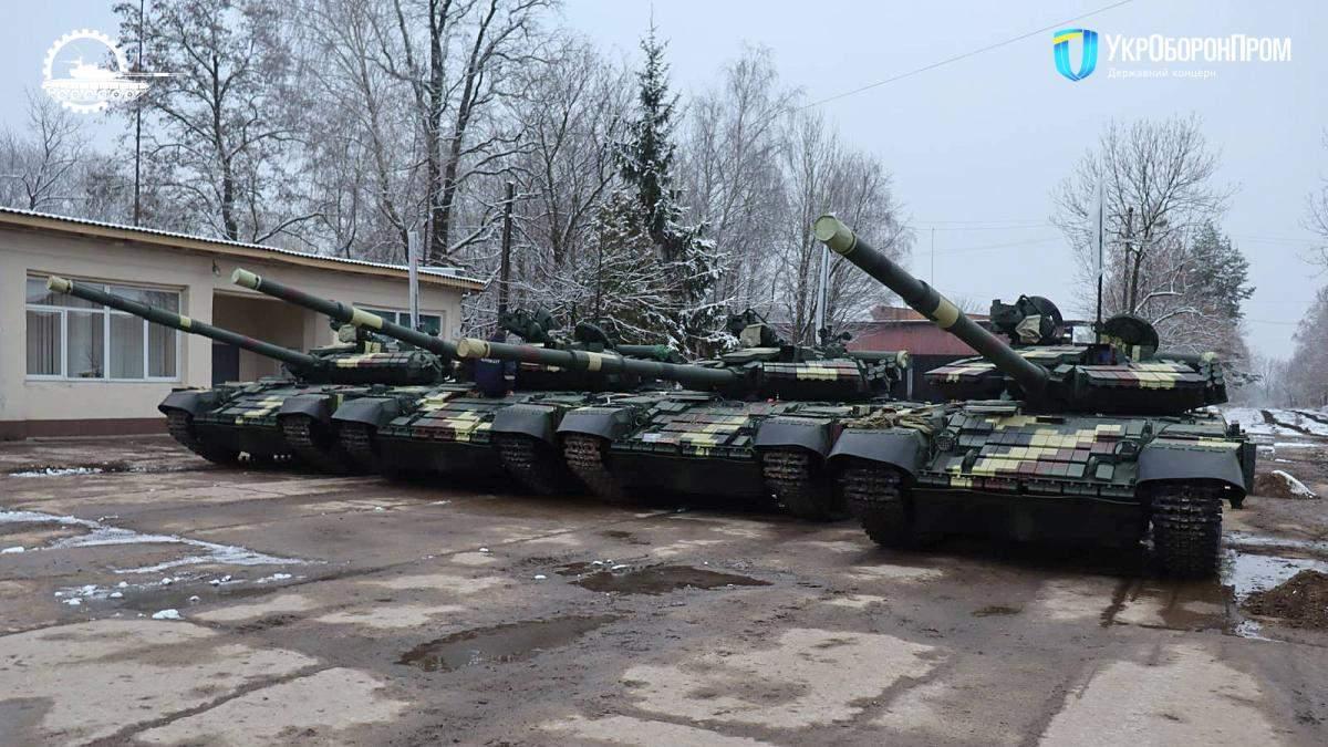 Українські військові отримали модернізовані танки Т-64: фото