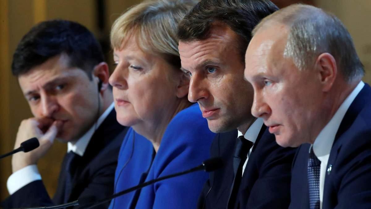Украина за год выполнила все условия, предусмотренные нормандской встречей