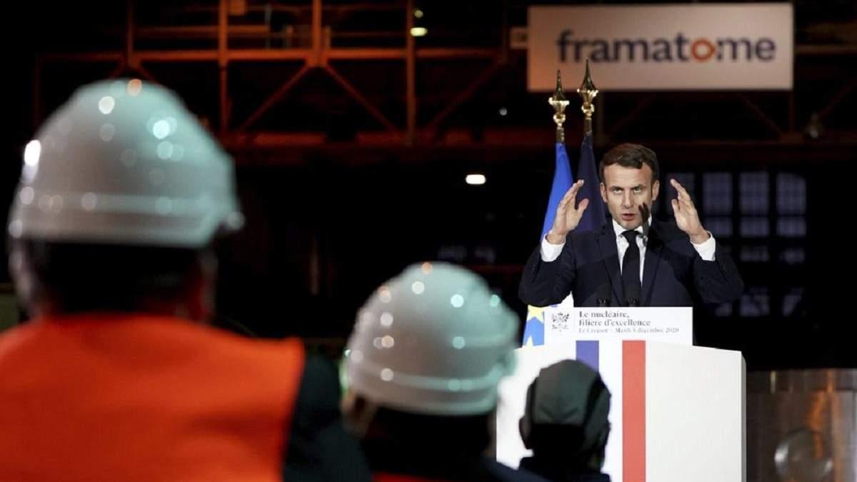 Франция хочет построить новейший атомный авианосец до 2038 года