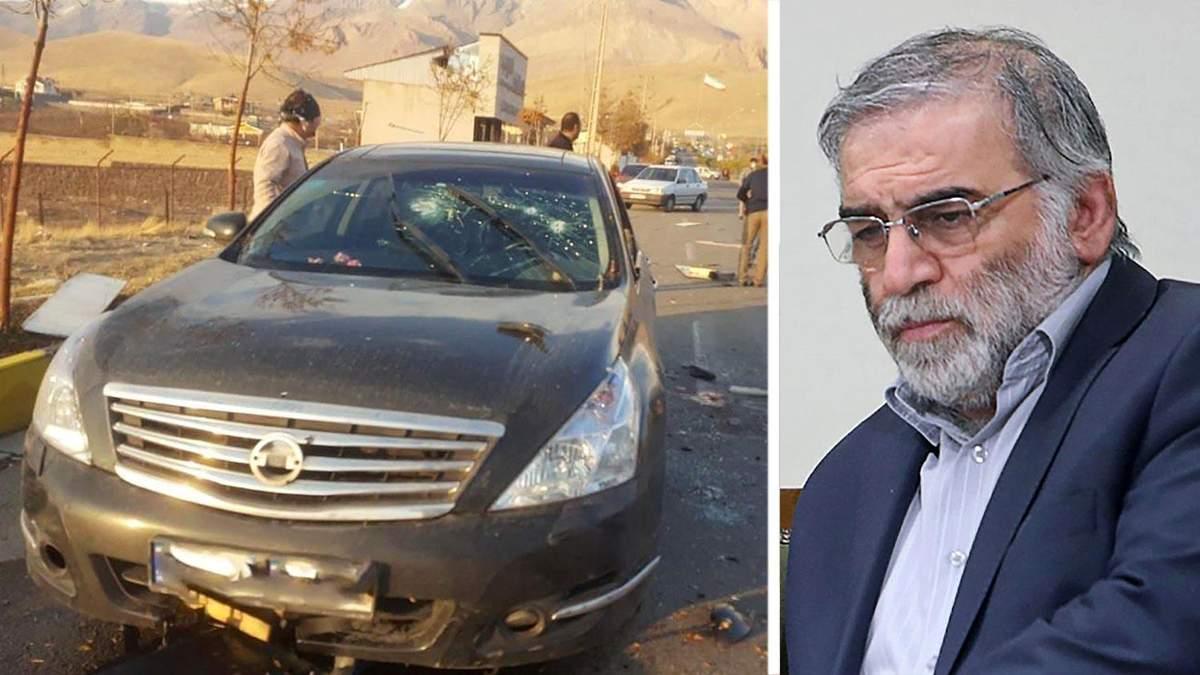 Иран заявил о задержании причастных к убийству Мохсена Фахризаде