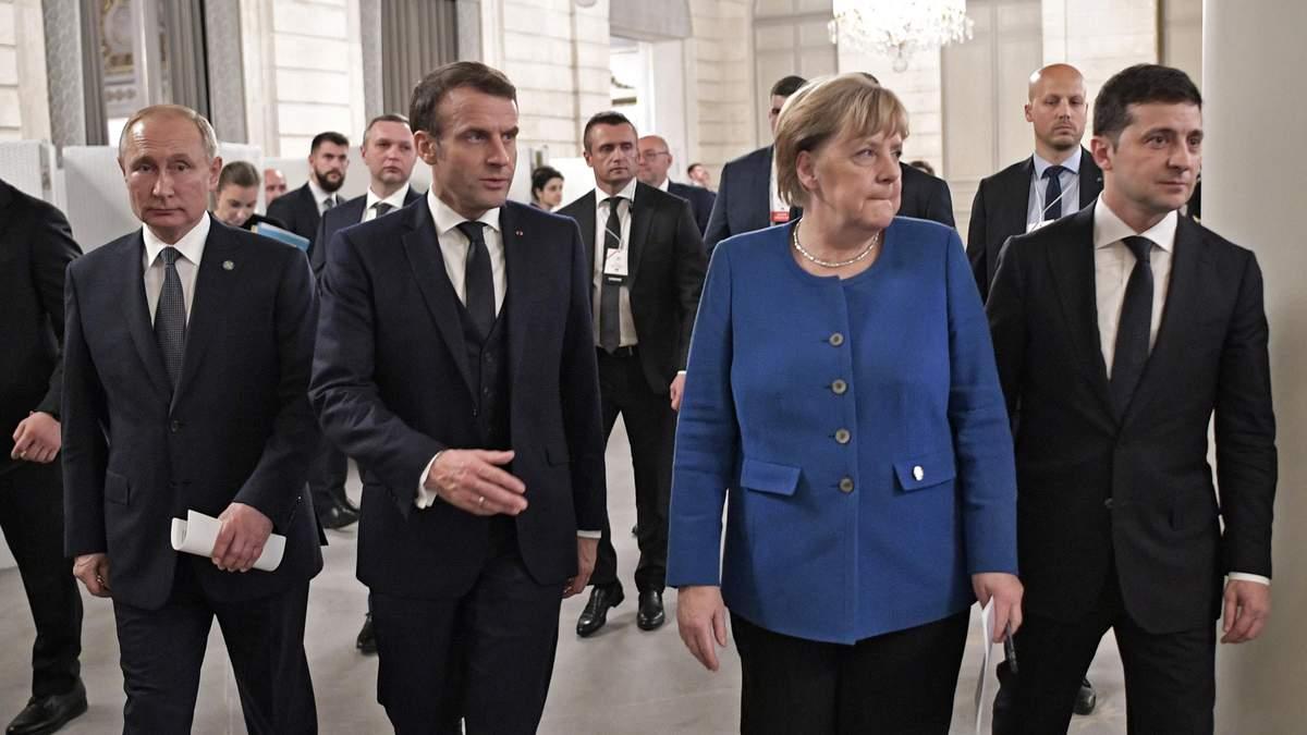 Президент України Володимир Зеленський і українська делегація в ТКГ відреагували на річницю Нормандського саміту в Парижі
