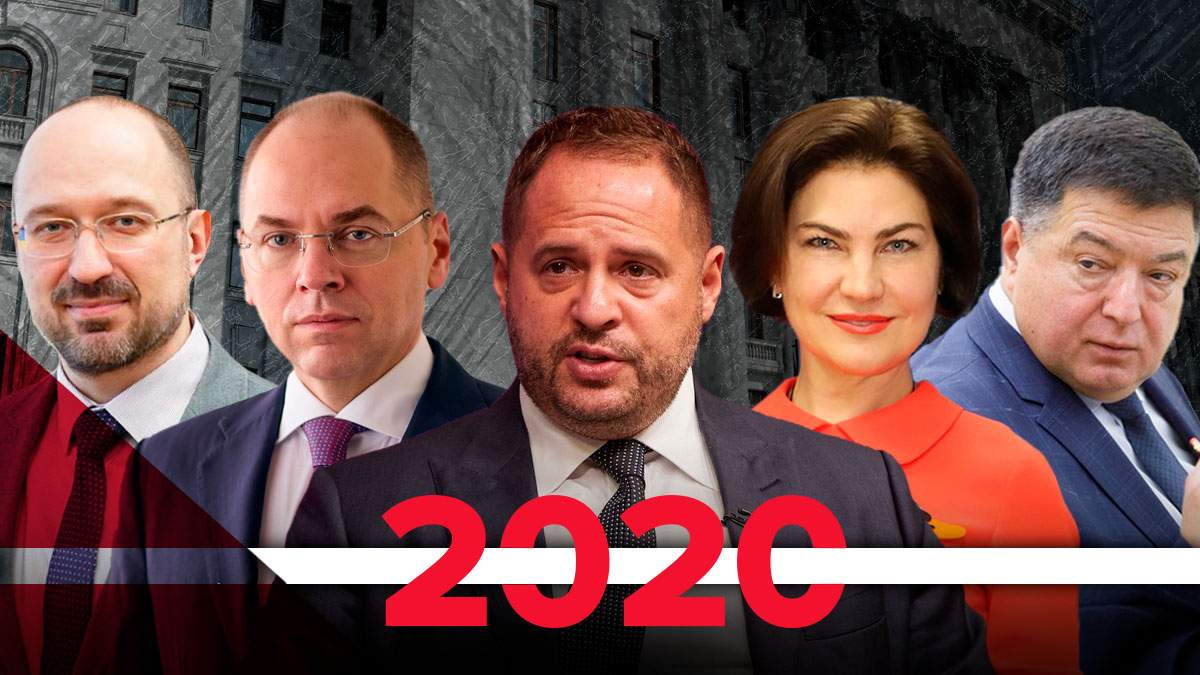 Топові призначення 2020 – список, підсумки року