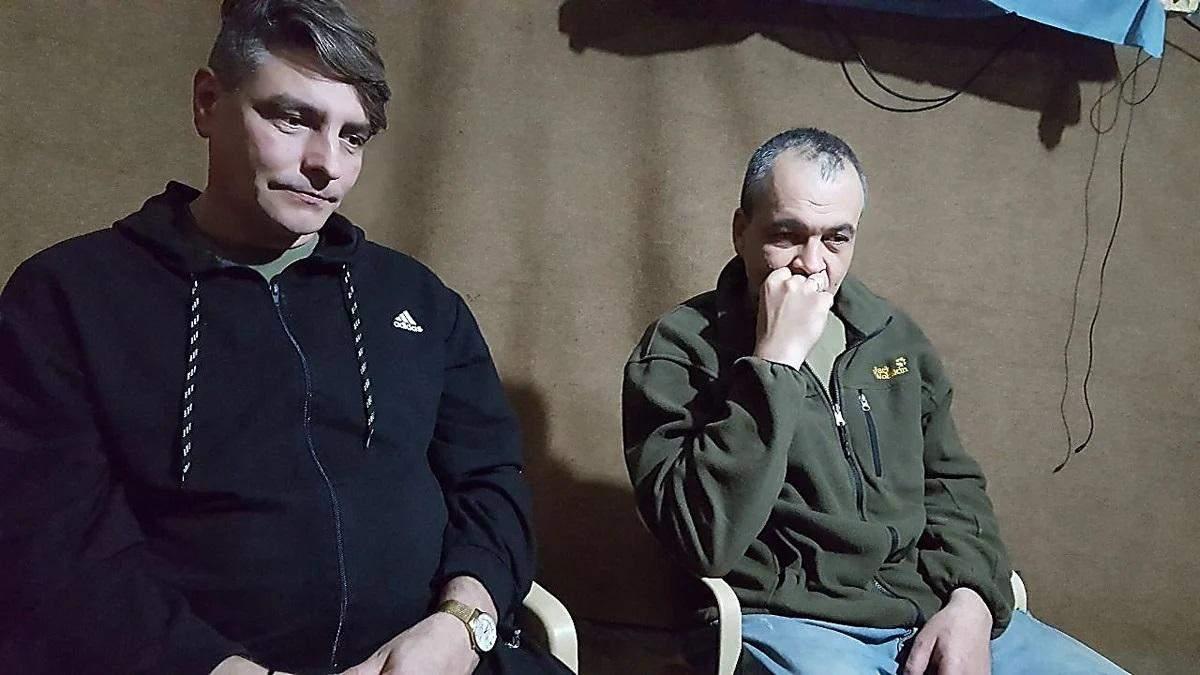 В Україну повернулися захоплені в Іраку Фоменков і Санпітер