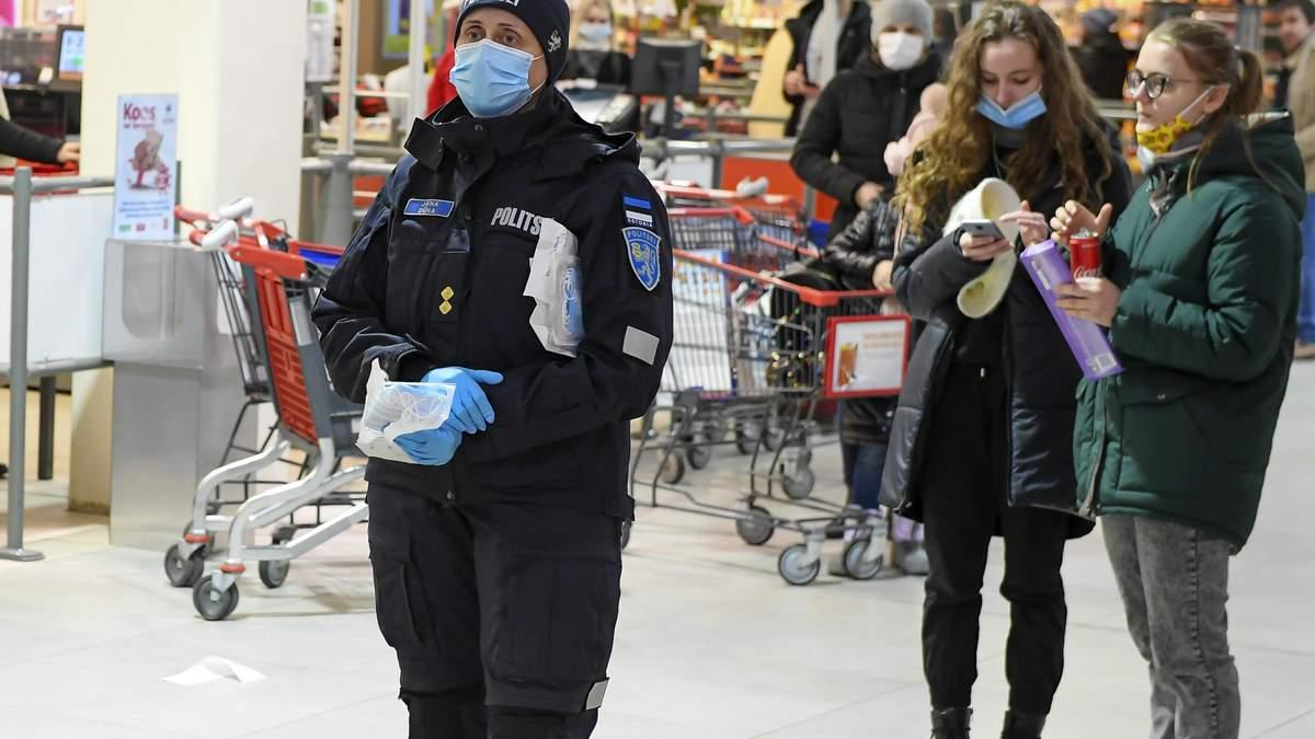 Эстония усиливает карантин из-за COVID-19
