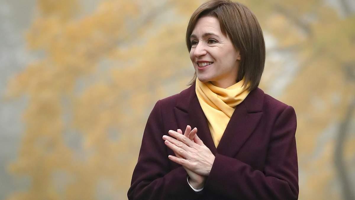 Президентка Молдови Санду приїде в Україну: коли