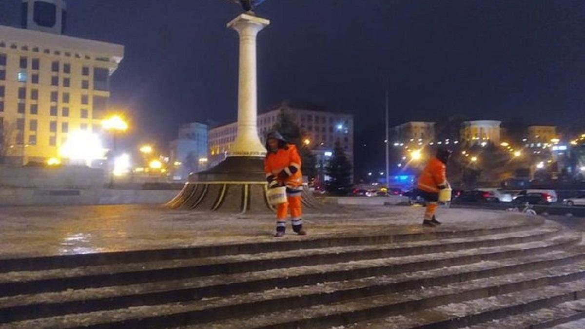 Ледяной дождь и гололедица в Киеве 11.12.2020: ситуация на дорогах