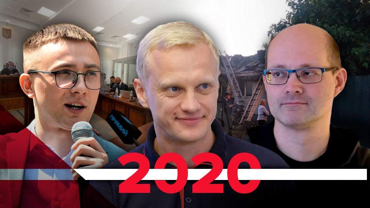 Напади на активістів у 2020 році